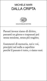 Dalla cripta - Mari, Michele - wuz.it