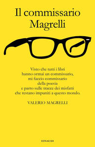 Il commissario Magrelli - Valerio Magrelli - copertina