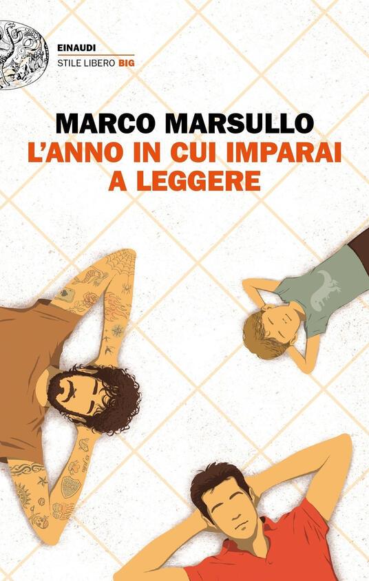 L' anno in cui imparai a leggere - Marco Marsullo - copertina