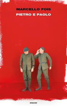 Pietro e Paolo - Marcello Fois - copertina