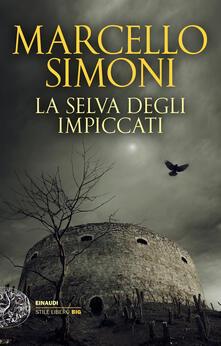 La selva degli impiccati - Marcello Simoni - copertina