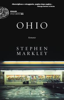Ohio - Stephen Markley - copertina