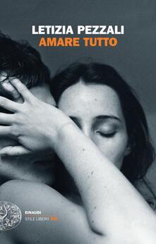 Amare tutto - Letizia Pezzali - copertina