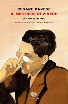 Il mestiere di vivere. Diario (1935-1950) - Cesare Pavese - copertina