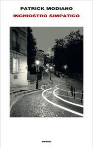 Libro Inchiostro simpatico Patrick Modiano