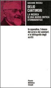 Delio Cantimori - Giovanni Miccoli - copertina