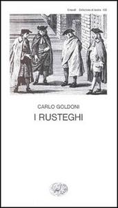 Libro I rusteghi Carlo Goldoni