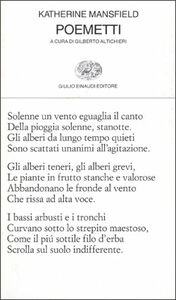 Libro Poemetti Katherine Mansfield