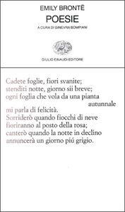 Foto Cover di Poesie, Libro di Emily Brontë, edito da Einaudi