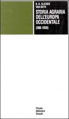 Daddyswing.es Storia agraria dell'Europa occidentale (500-1850) Image