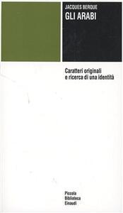 Gli arabi - Jacques Berque - copertina