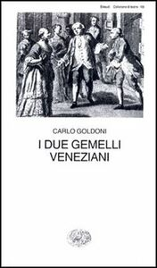 Libro I due gemelli veneziani Carlo Goldoni