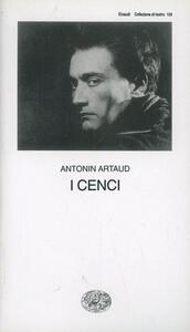 I Cenci - Antonin Artaud - copertina