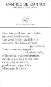 Libro Cantico dei cantici