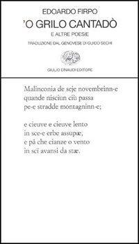Grillo cantadò e altre poesie ('O)