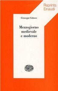 Libro Mezzogiorno medievale e moderno Giuseppe Galasso