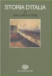 Storia d'Italia. Vol. 4/2: Dall'Unità a oggi. La cultura.