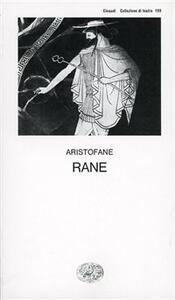 Le rane - Aristofane - copertina