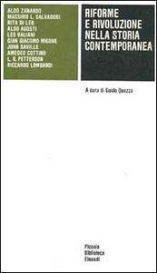 Libro Riforme e rivoluzione nella storia contemporanea