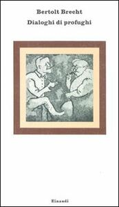 Dialoghi di profughi - Bertolt Brecht - copertina