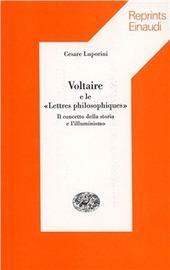 Voltaire e le «Lettres philosophiques». Il concetto della storia e l'illuminismo