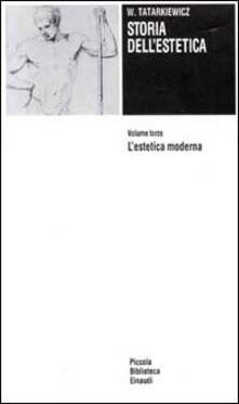Vitalitart.it Storia dell'estetica. Vol. 3: L'Estetica moderna. Image