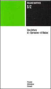 S/Z - Roland Barthes - copertina