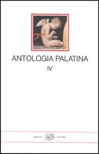 Antologia palatina. Testo greco a fronte. Vol. 4: Libri XII-XVI. - copertina