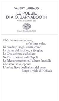 Le poesie di A. O. Barnabooth