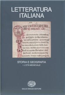 Writersfactory.it Letteratura italiana. Storia e geografia. Vol. 1: L'Età medievale. Image