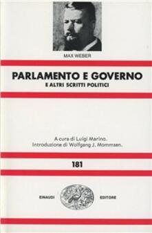Fondazionesergioperlamusica.it Parlamento e governo nel nuovo ordinamento della Germania e altri scritti politici Image