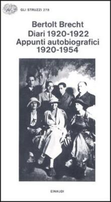 Warholgenova.it Diari (1920-1922). Appunti autobiografici 1920-1954 Image