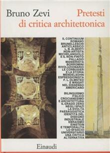 Pretesti di critica architettonica.pdf