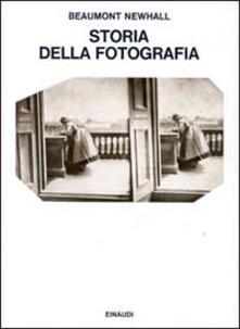 Storia della fotografia - Beaumont Newhall - copertina