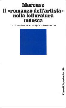 Ipabsantonioabatetrino.it Il romanzo dell'artista nella letteratura tedesca. Dallo Sturm und Drang a Thomas Mann Image