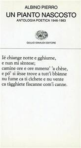 Un pianto nascosto. Antologia poetica 1946-1983