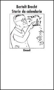 Storie da calendario - Bertolt Brecht - copertina