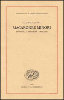 Winniearcher.com Macaronee minori. Zanitonella, Moscheide, Epigrammi Image
