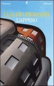 L' appeso - Claudio Piersanti - copertina