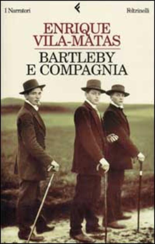Bartleby e compagnia - Enrique Vila-Matas - copertina
