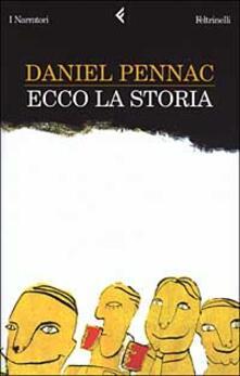 Ecco la storia - Daniel Pennac - copertina