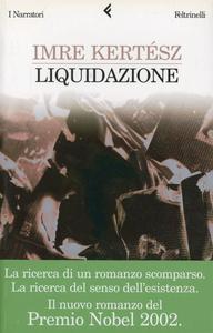 Libro Liquidazione Imre Kertész