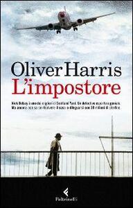 Libro L' impostore Oliver Harris