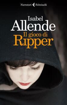 Il gioco di Ripper - Isabel Allende - copertina