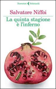 La quinta stagione è l'inferno - Salvatore Niffoi - copertina