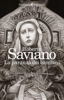 La paranza dei bambini - Roberto Saviano - copertina