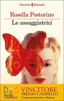 Le assaggiatrici - Rosella Postorino - copertina
