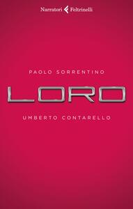 Loro - Paolo Sorrentino,Umberto Contarello - copertina