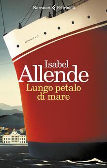 Lungo petalo di mare - Isabel Allende - copertina