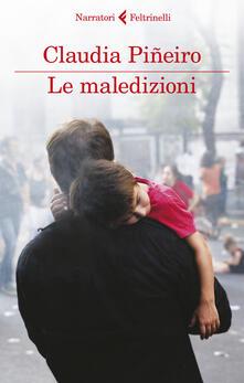 Le maledizioni - Claudia Piñeiro - copertina